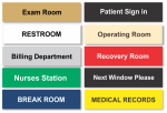Sample Medical Office Signs