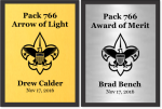 Scout Recognition Plaques / Awards