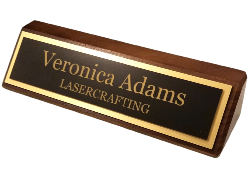 Name Plate: Engraved Office Name Plates And